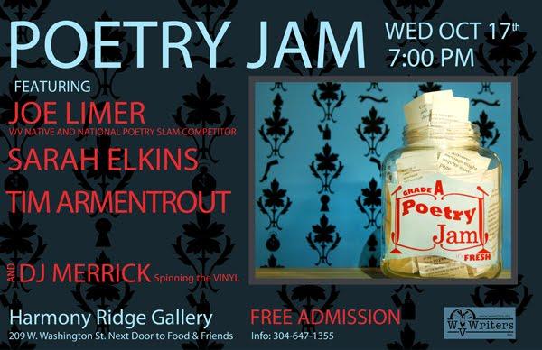 Free Mid Week Poetry Jam Featuring Joe Limer In Lewisburg West